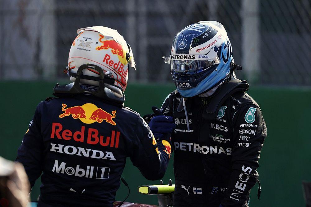 İtalya GP: Sprint sıralama yarışını Bottas kazandı, Verstappen pole pozisyonunu aldı!