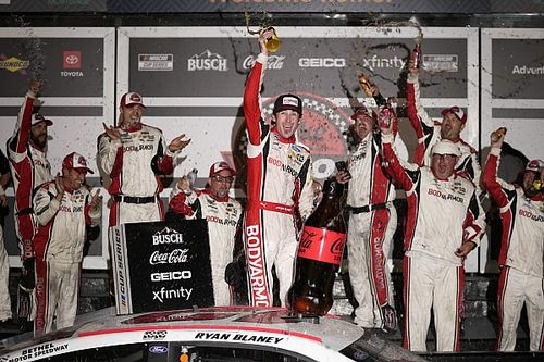Consecutive wins give Ryan Blaney 'a good shot' at Cup title