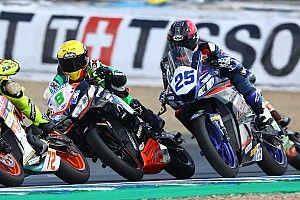 Cancelada la carrera de Jerez por un grave accidente de Dean Berta Viñales