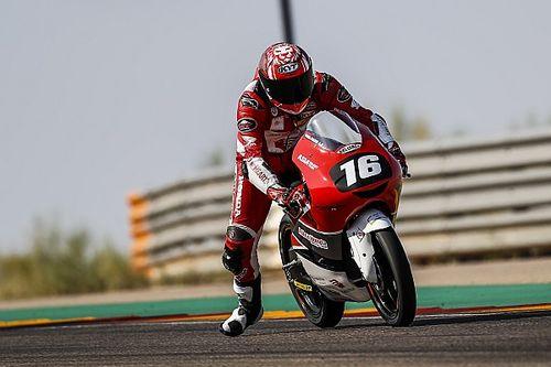 Hasil CEV Moto3 Aragon: Gara-gara Penalti Mario Aji Gagal Podium