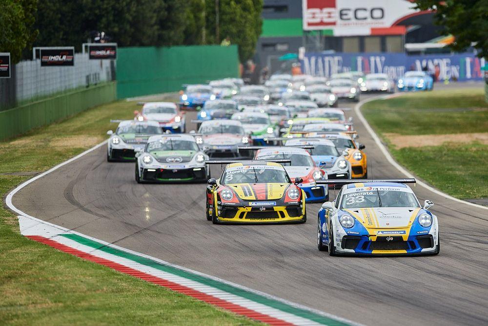 Le sfide della Carrera Cup Italia si riaccendono a Vallelunga e in diretta tv