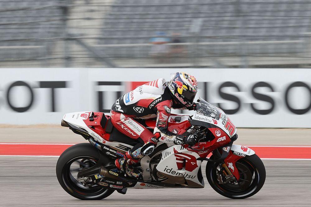 Honda domina el warm up en Austin con Nakagami y Márquez