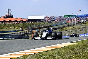 VIDEO: Williams-duo eindigt kwalificatie Dutch GP in bandenstapels