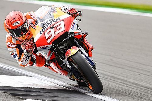 Marquez accepts blame for Martin Silverstone MotoGP crash