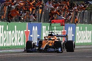 """F1 - Ricciardo exalta vitória, ritmo da McLaren e brinca: """"Estava pegando leve de propósito durante o ano"""""""