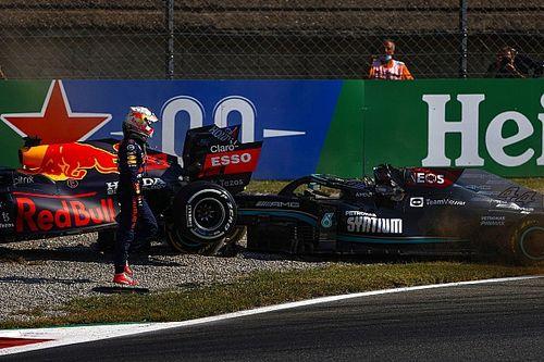 """Hamilton """"sorprendido"""" de no recibir ayuda de Verstappen tras choque"""