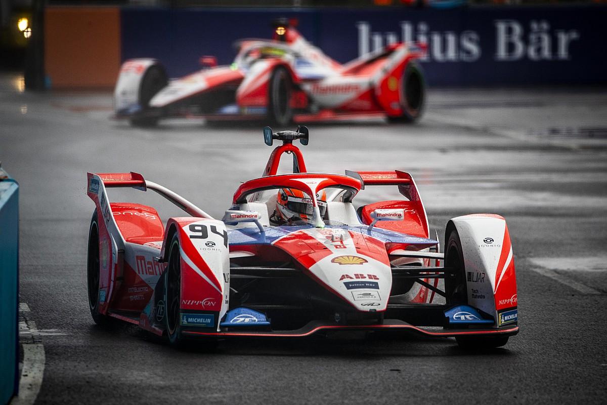 London E-Prix: Lynn beats Dennis to pole in wet/dry qualifying