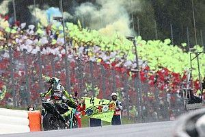 """Rossi: """"No puedo caerme cuando lucho por terminar el 13º"""""""