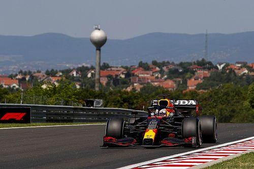 Verstappen snelste in eerste training GP van Hongarije