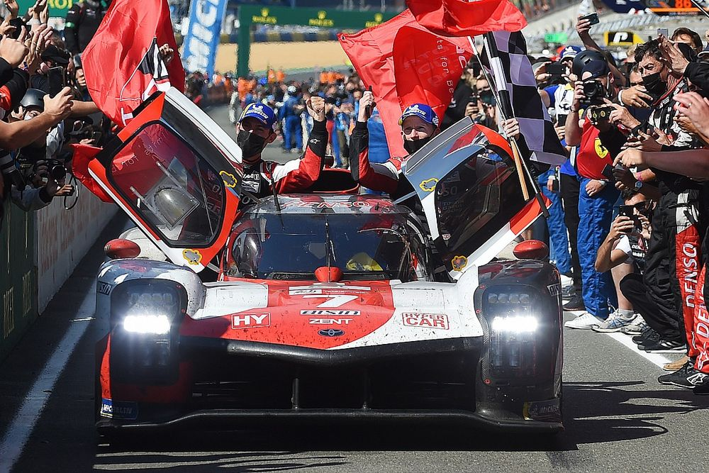 """Lopez: Final hours of #7 Toyota Le Mans win """"very stressful"""" with fuel woes"""
