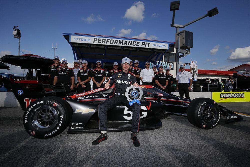 Power gana la pole en Gateway con O'Ward dentro del top 5