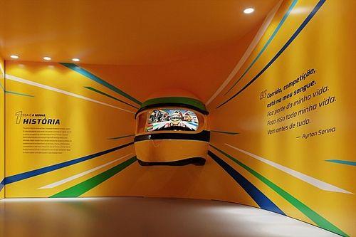 Senna ganha exposição inédita em São Paulo
