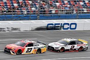 Talladega NASCAR: Wallace takes landmark win in rain-shortened race