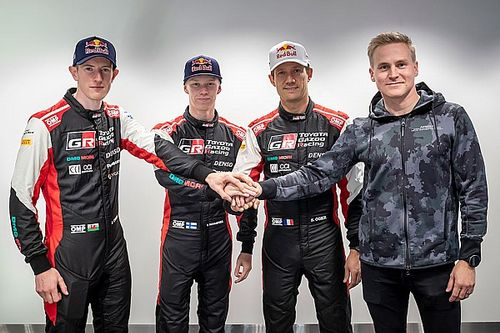 Toyota confirms 2022 WRC line-up with Lappi sharing Ogier car