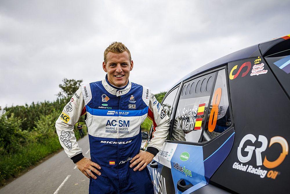 Solans wsiada do WRC