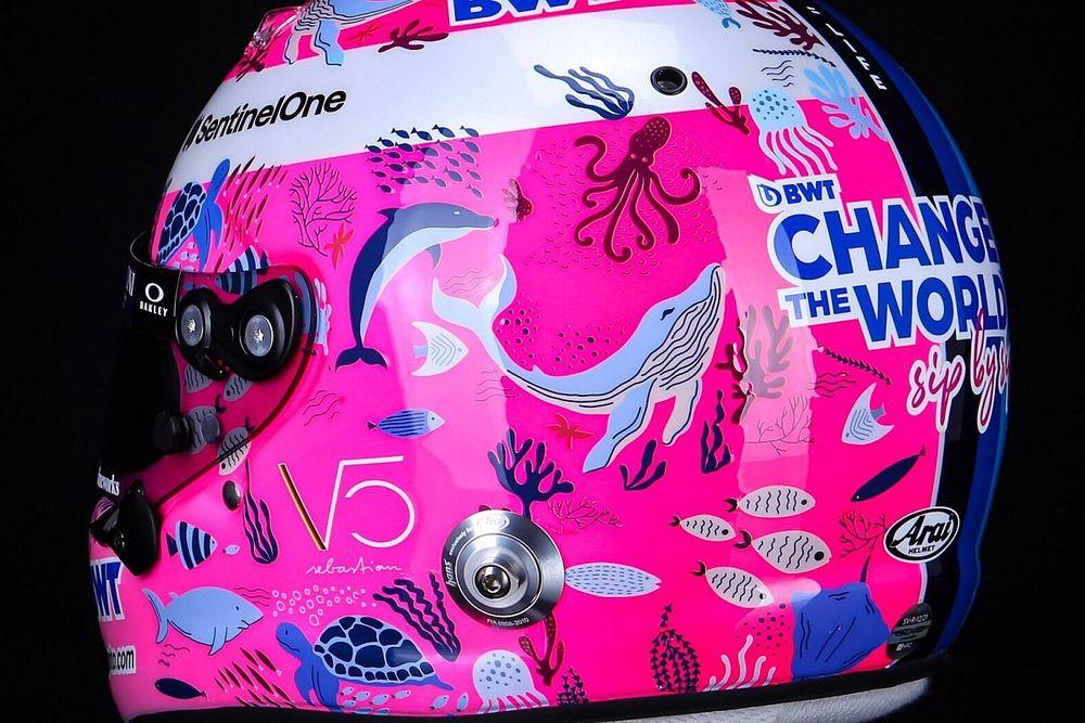 Феттель проведет Гран При Турции в «подводном» шлеме