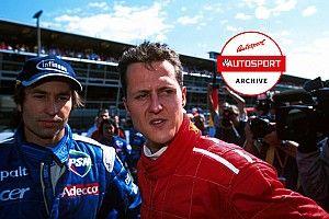 Archivo: El día que se propuso no adelantar en el GP de Italia de F1