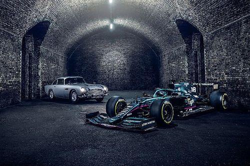 Aston Martin brengt op Monza saluut aan James Bond