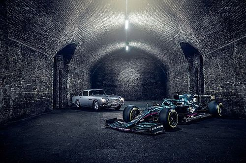 Aston Martin, Monza'da James Bond filmi için 007 logolarıyla yarışacak
