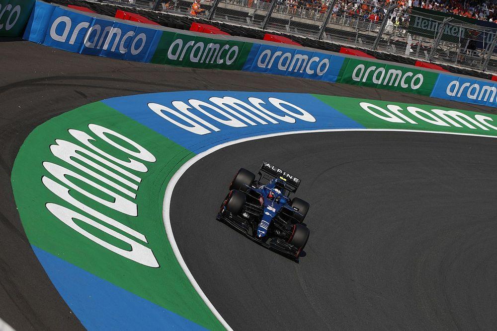 Vídeo: así afrontan los pilotos de F1 una vuelta a Zandvoort