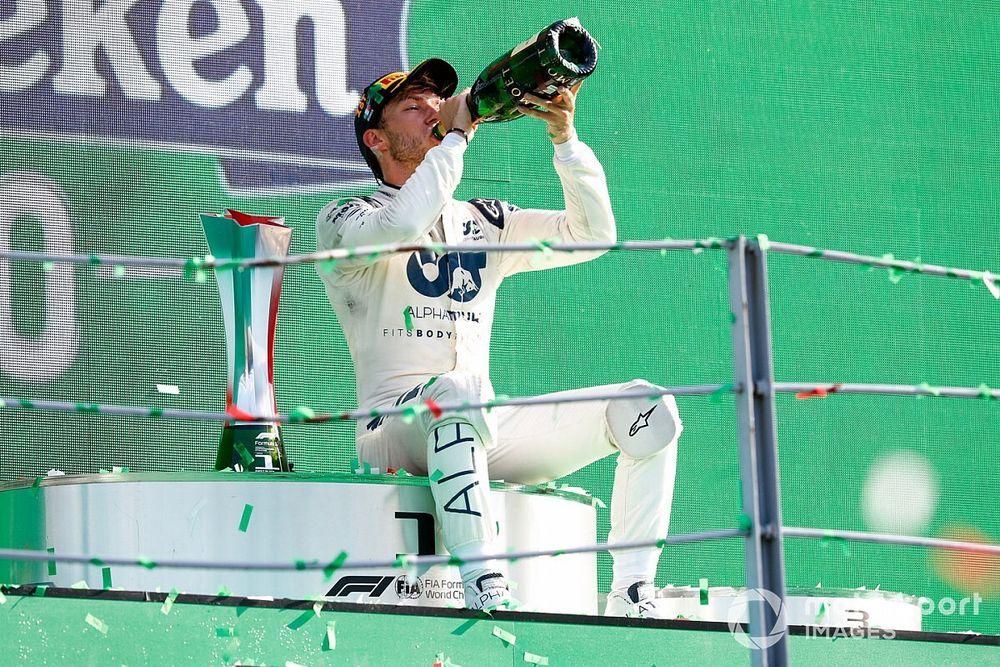 The main factors behind Gasly's shock Monza win