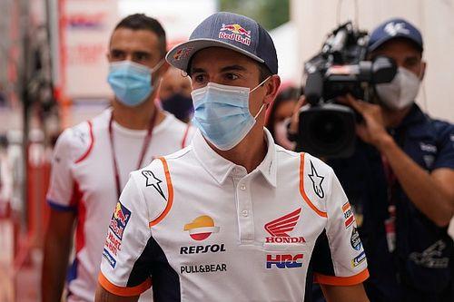 Honda écarte la rumeur d'une troisième opération pour Marc Márquez