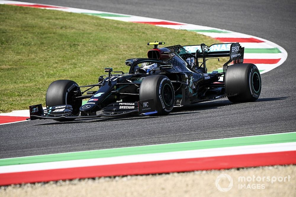 Toskana GP 2. antrenman: Bottas lider, Perez'le Raikkonen çarpıştı