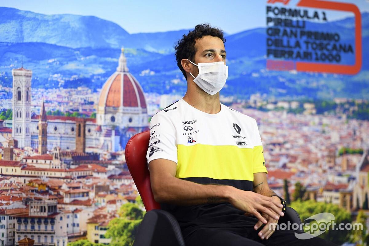 Ricciardo is különleges sisakkal készül a Toszkán Nagydíjra