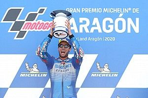 Rins le gana a Alex Márquez en Aragón y Mir es el nuevo líder