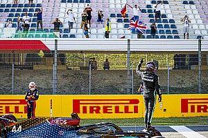 Hamilton le gana la pole a Bottas en el GP de la Toscana