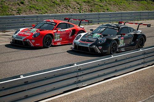 Porsche представила ливреи для «24 часов Ле-Мана»