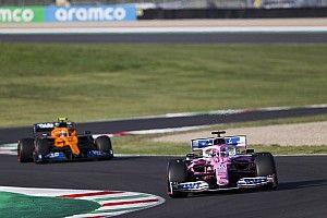 迈凯伦:Racing Point目前在年度第三之争中赛车最快