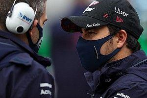 Sergio Perez már Portugáliára melegít (videó)