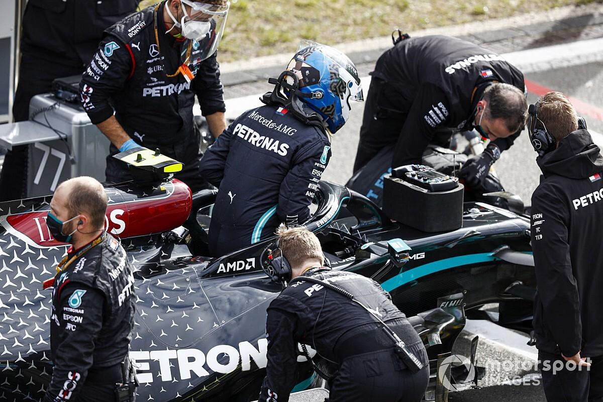 Mercedes: il ritiro di Bottas all'Eifel per la centralina