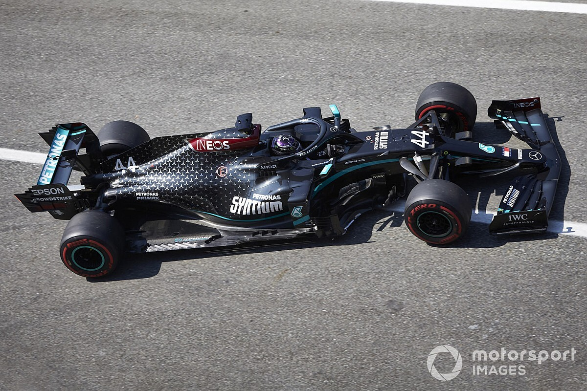 Cómo se preparó Mercedes para la prohibición del modo Fiesta en F1