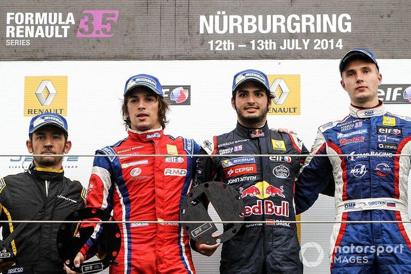 Cuando Sainz ganó (y sufrió) en Nürburgring
