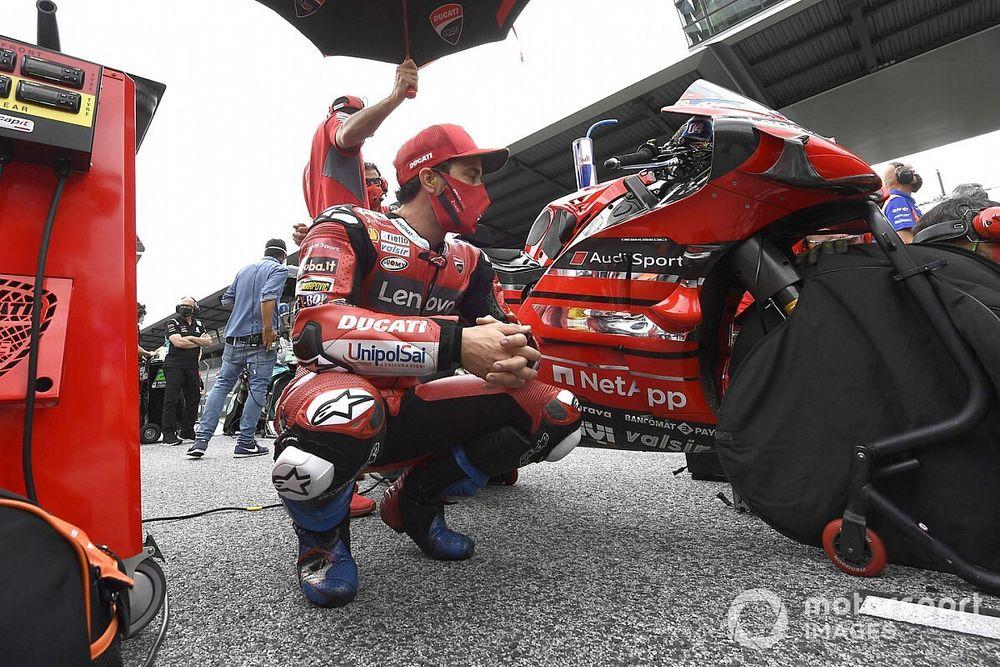 """Dovizioso: """"Michelin ha perdido el control de los neumáticos"""""""