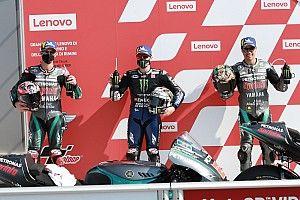 La parrilla de salida del GP de San Marino de MotoGP 2020