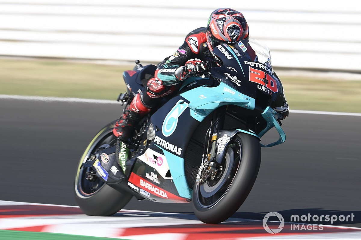 "Quartararo ""getting used"" to riding with problematic Yamaha"