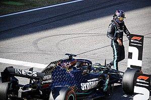 """Hamilton con """"mucha presión"""" para lograr la pole en Mugello"""