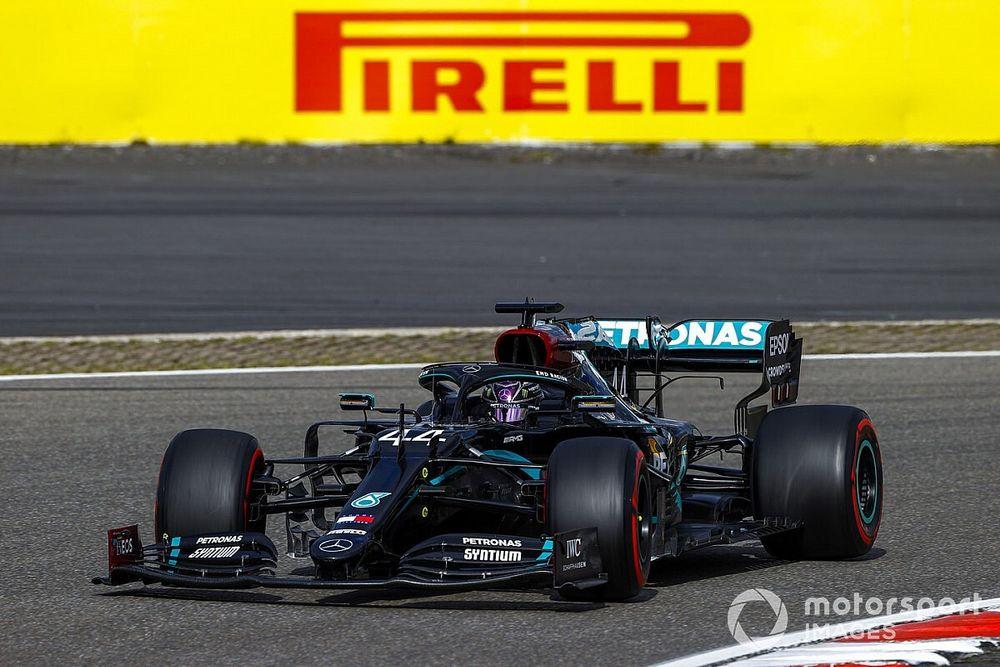F1: Mercedes diz que não teve preocupações com volante de Hamilton no GP de Eifel