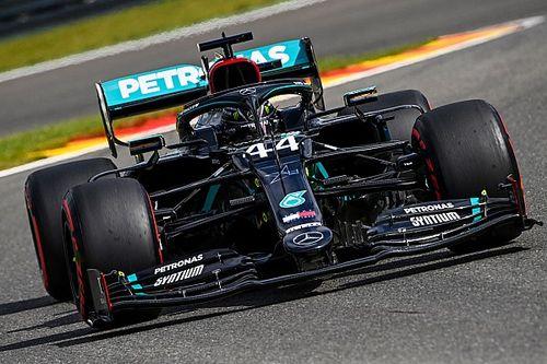 Hamilton 'esmaga' rivais e crava pole para o GP da Bélgica de F1