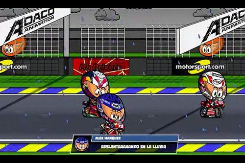 VIdeo: el GP de Francia de MotoGP con el humor de los MiniDrivers