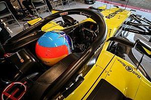Alonso llevará un casco muy vintage en su vuelta a la F1