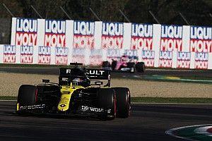 """Ricciardo celebra segundo pódio no ano após prova """"divertida"""" em Ímola"""