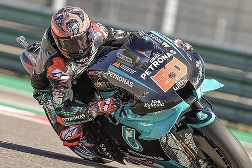 MotoGP: Quartararo supera dores de queda no TL3 para fazer a pole do GP de Aragón