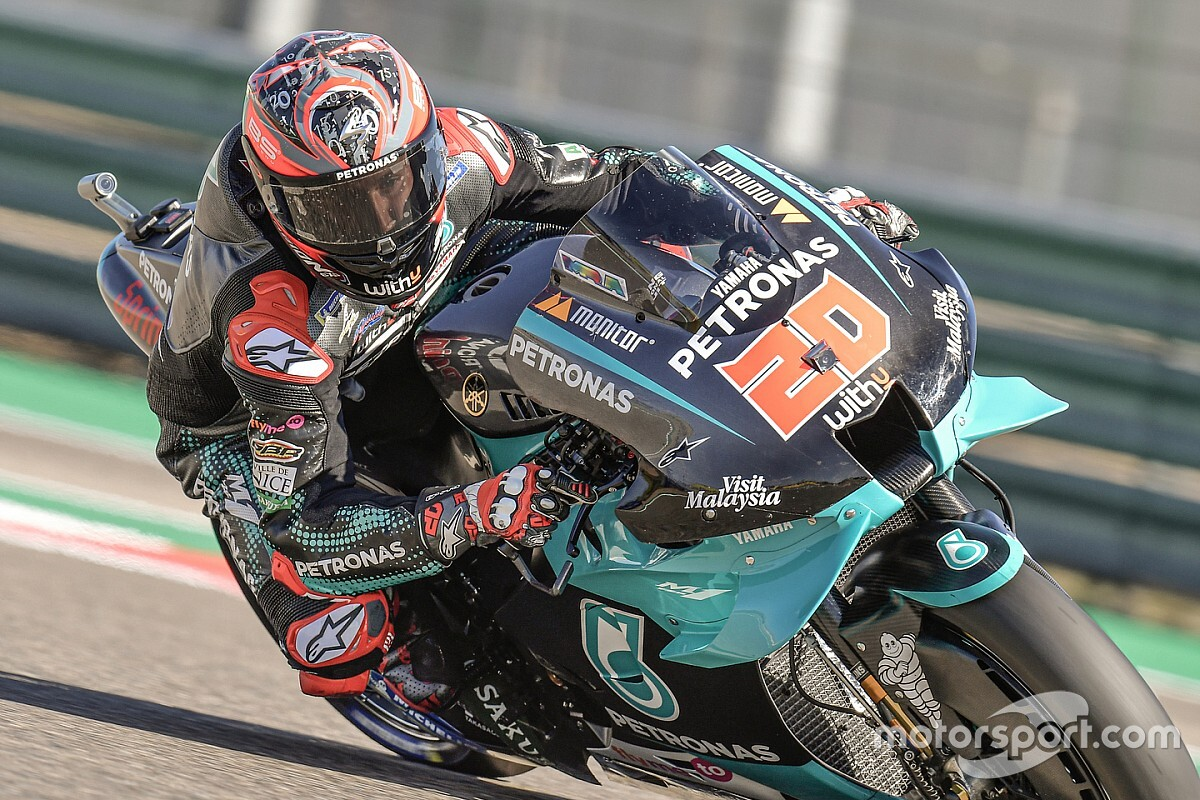 Quartararo fit verklaard na crash in derde training Aragon GP