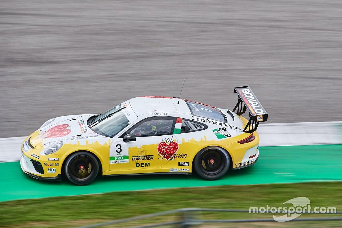 Carrera Cup Italia, Mugello: Moretti va in pole all'ultimo secondo!