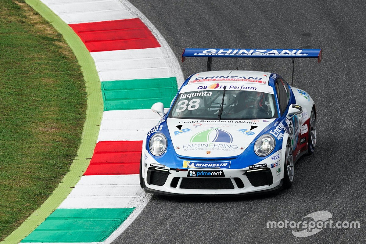 Carrera Cup Italia, Mugello: Iaquinta con brivido nelle libere!
