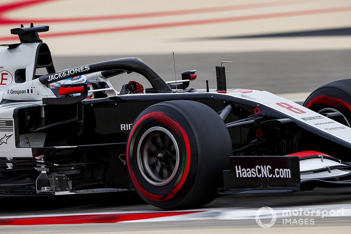 Magnussen: A una vuelta Grosjean es fenomenal